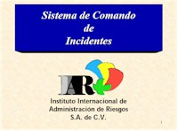 Sistema de Comando de Incidentes - IIAR